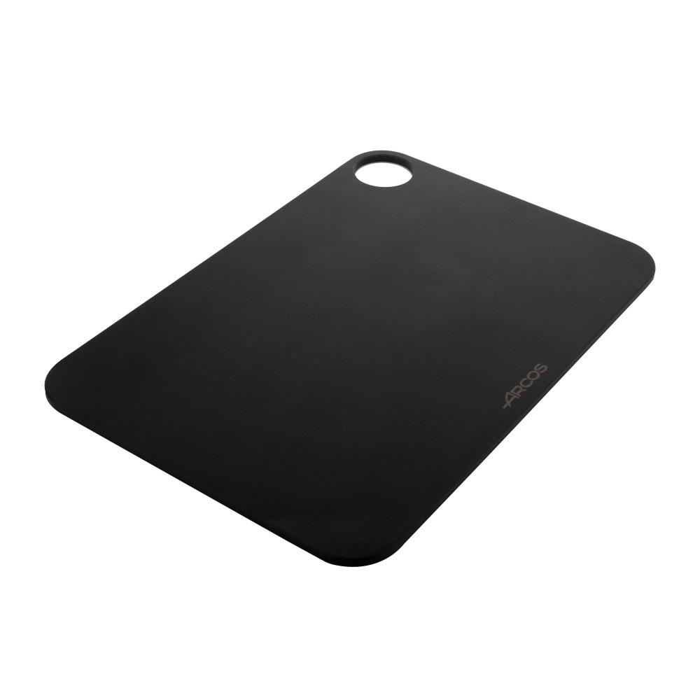 Доска разделочная с желобом, цвет черный, 30,5х23 см ARCOS Accessories арт. 692110