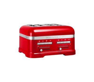 Тостер на 4 хлебца KitchenAid Artisan (Красный) 5KMT4205ECA фото