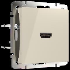 Розетка HDMI (слоновая кость) WL03-60-11 Werkel