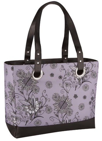 Сумка-холодильник (термосумка) Raya Tote-Purple Flower, 14L