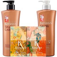 Подарочный набор Kerasys Салон Кэр Питание №4 (шамп.470гр + конд.470гр + мыло 2шт + подарочная коробка + пакет) 244494