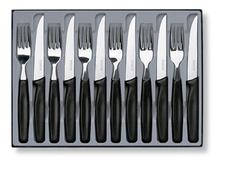 Набор Victorinox столовый, 12 предметов, черный 5.1233.12