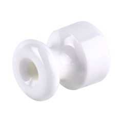 Изолятор без винта 100 шт. (белый) Ретро WL18-17-02 Werkel