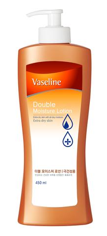 Лосьон для тела Vaseline с двойным эффектом увлажнения 450мл 871522