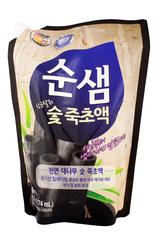 Средство для мытья посуды 1,2 кг (запаска) Soonsaem Бамбуковый уголь 887226
