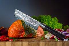 Нож кухонный Накири 168 мм Samura BLACKSMITH SBL-0043/K