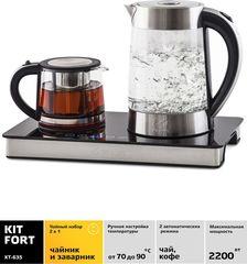 Чайник 1,7л Kitfort КТ-635