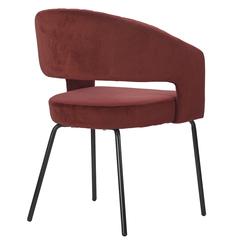 Кресло Berg Ariadna, велюр, бордовое UCH-ARG062362