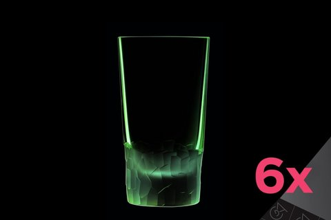 Набор из 6 высоких стаканов 330мл Cristal d'Arques Intuition L8641
