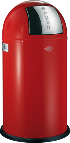 Ведро для мусора с заслонкой 50л Wesco Pushboy 175831-02