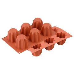 Форма для приготовления пирожных Mini Pandoro силиконовая Silikomart 26.100.63.0065