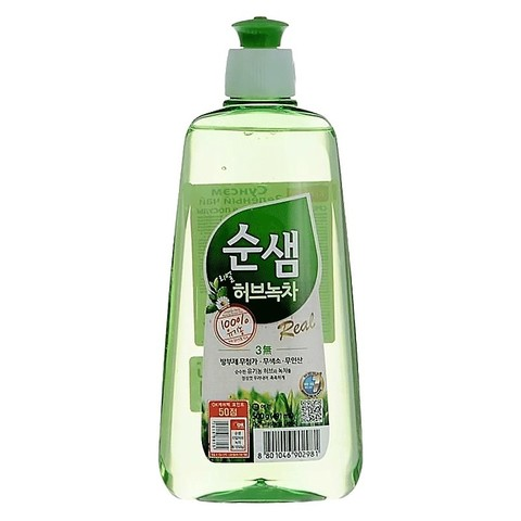 Средство для мытья посуды 500мл Soonsaem Зеленый чай 902981