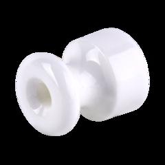 Изолятор без винта 50 шт. (белый) Ретро WL18-17-02 Werkel