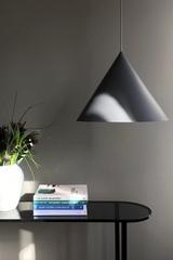 Лампа подвесная Benjamin XL, белая матовая, белый шнур Frandsen 1532_66001