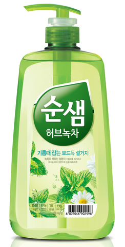 Средство для мытья посуды 1000мл Soonsaem Зеленый чай 902998