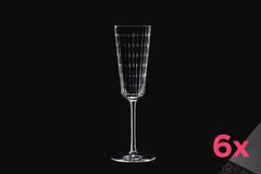 Набор из 6 бокалов для шампанского 170мл Cristal d'Arques Iroko N4650