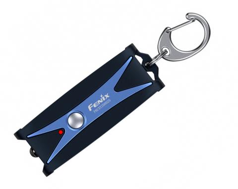 Фонарь-брелок светодиодный Fenix UC01 синий, 45 лм, встроенный аккумулятор