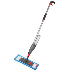 Швабра для мытья пола с распылителем, телескопической ручкой 130 см и насадкой Nordic Stream 15343