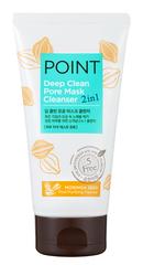 Очищающая маска и пенка для умывания (2в1) POINT Глубокое очищение 150г (для всех типов кожи) 249871