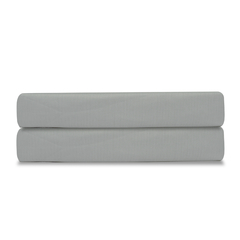Простыня из сатина светло-серого цвета из коллекции Essential, 180х270 см Tkano TK19-SH0006