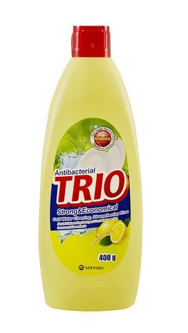 Средство для мытья посуды 400мл TRIO Лимон 979488