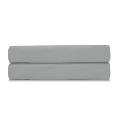 Простыня из сатина светло-серого цвета из коллекции Essential, 240х270 см Tkano TK19-SH0002