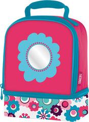 Термосумка детская (сумка-холодильник) Thermos Floral Dual розовая 889379