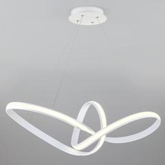 Подвесной светодиодный светильник Eurosvet Kink 90174/1 белый