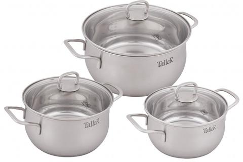 Набор посуды 6 предметов Taller Бригг TR-7120