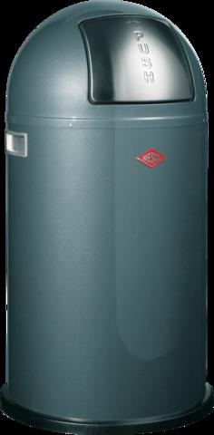 Ведро для мусора с заслонкой 50л Wesco Pushboy 175831-13