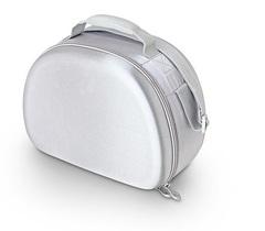 Сумка-холодильник (термосумка) для косметики с жесткими вставками EVA Mold Kit Silver, 6L 469502