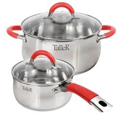 Набор посуды 4 предмета Taller Лортон TR-7151