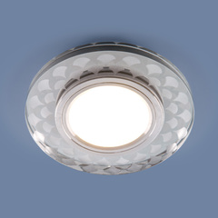 Встраиваемый точечный светильник с LED подсветкой 2247 MR16 Elektrostandard