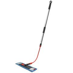 Швабра для мытья пола с телескопической ручкой 160 см, гибкой штангой 40 см и насадкой Nordic Stream 15360