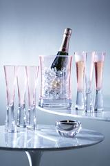 Набор для сервировки шампанского LSA International Moya малый, розовый G1372-00-436