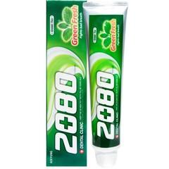 Зубная паста Dental Clinic 2080 ЗЕЛЕНЫЙ ЧАЙ 120г 848197