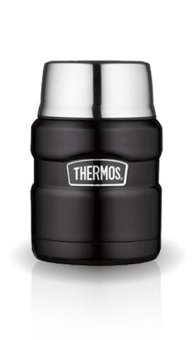 Термос для еды Thermos King SK3000 черный (0,47 литра)
