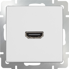 Розетка HDMI (белый) WL01-60-11 Werkel
