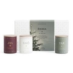 Набор из 3 ароматических свечей ONSKA mini по 55 г SKANDINAVISK SK859