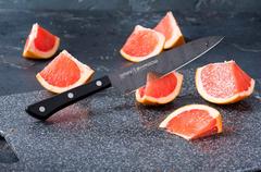 Набор из 5 кухонных ножей Samura SHADOW и браш-подставки 60919123