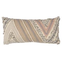 Подушка декоративная с кантом и бахромой из коллекции Ethnic, 30х60 см Tkano TK20-CU0012