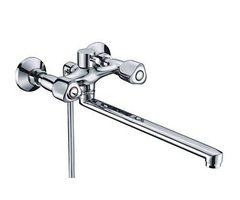 Amper 2902L Смеситель для ванны с длинным изливом WasserKRAFT Серия Amper 2900
