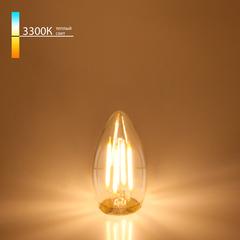 Светодиодная лампа Свеча CD F 7W 3300K E27 Elektrostandard
