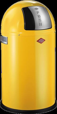 Ведро для мусора с заслонкой 50л Wesco Pushboy 175831-19