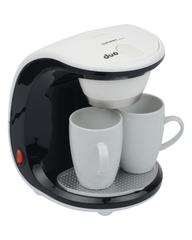 Кофеварка 0,25л FIRST FA-5453-2 White/black