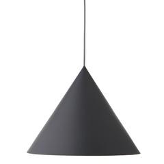 Лампа подвесная Benjamin XL, серая матовая, серый шнур Frandsen 1532276001