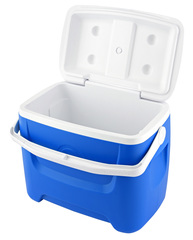 Изотермический контейнер (термобокс) Igloo Island Breeze 28, 26L, синий 44558