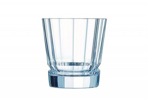 Набор  из 4 низких стаканов 320мл Cristal d'Arques Macassar N5829
