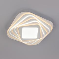 Светодиодный потолочный светильник с пультом управления Eurosvet Salient 90154/6 белый