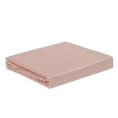 Простыня из сатина цвета пыльной розы из коллекции Essential, 180х270 см Tkano TK19-SH0005